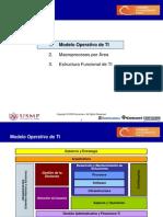 Modelo Operativo Objetivo de TI Clase 2014