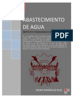 Abastecimiento de Agua - Pedro Rodríguez Completo