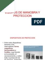 Tema Nº 9 Equipos de Maniobra y Proteccion