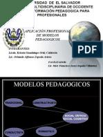 Pres Modelo Pedago Profesional Curriculo