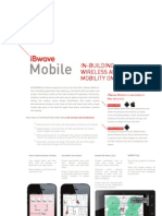 IBwave Mobile Product Sheet