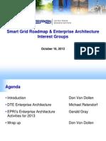 Roadmapping - Enterprise Architecture Interest Group 101512