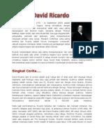 Biografi David Ricardo