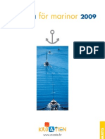 Prislista för marinor 2009