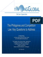 The Philippines and Competition Law