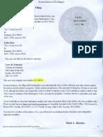 Srinivas Sista File Bankruptcy at Western District of Washington
