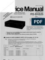 Technics RS-BX626