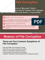 Recover Corrupted Word File