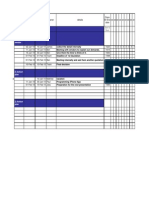 Project Management - Action Planning and Scheduling
