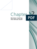Chapter 2 Decision Making the Ethical Issues