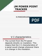 Maximum Power Point Tracker