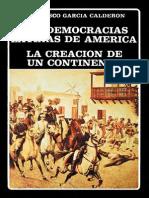 Garcia Calderon, Francisco- Las Democracias Latinas de America