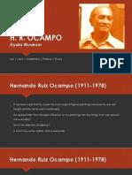 HR Ocampo Presentation