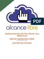 Implementacion Servidores Linux SEPTIEMBRE 20090910