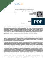 Emociones y Salud Algunas Consideraciones. Ma. de Lourdes Rodríguez Campuzano