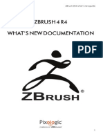 ZBrush4 R4 Whats New