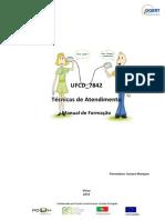 Manual Ufcd 7842_ Tecnicas de Atendimento