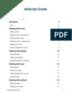 Things Apple Script fdafdsaGuide