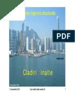 Cladiri Inalte C1_IS Introducere