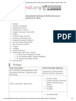 [GS2] Department of Administrative Reforms _ Public Grievances (DARPG), Sevottam Framework, E-Office » Print