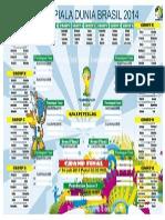 Jdwal Piala Dunia 14