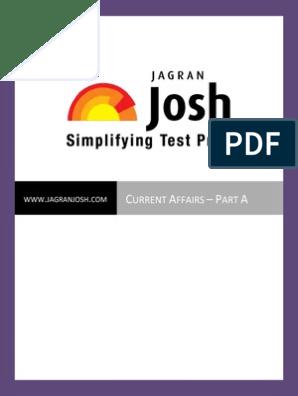 Jagaran Josh) CA Part A | Reserve Bank Of India | Government