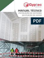 Gyptec - Manual Técnico de Instalação de Sistemas em Placas de Gesso