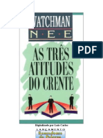 As Três Atitudes do Crente- Watchman Nee