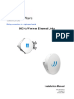 Bridgewave Install Manual
