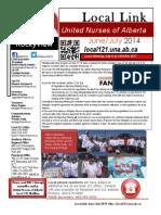 June July 2014 Newsletter