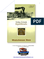 Vida Cristã Equilibrada- Watchman Nee