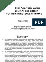 Janus Kinase (JAK) and Spleen Tyrosine Kinase (Syk) Inhibitors
