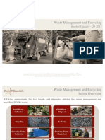 Waste Management and Recycling Market Update