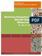 Sop Workshop Kompetensi Meneliti