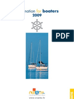 Information for boaters 2009