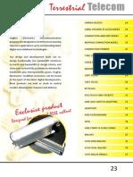 Hughes Electronics 2014 catalogue - Terrestrial Telecom Section