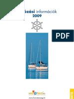 Hajózási információk 2009