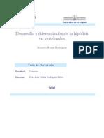 Desarrollo y Diferenciación de La Hipófisis en Vertebrados. Tesis Doctoral (2003) Ed. Biblioteca Virtual Miguel de Cervantes. Alicante (L)