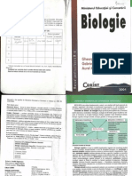 Biologie Clasa a Ix-A Corint