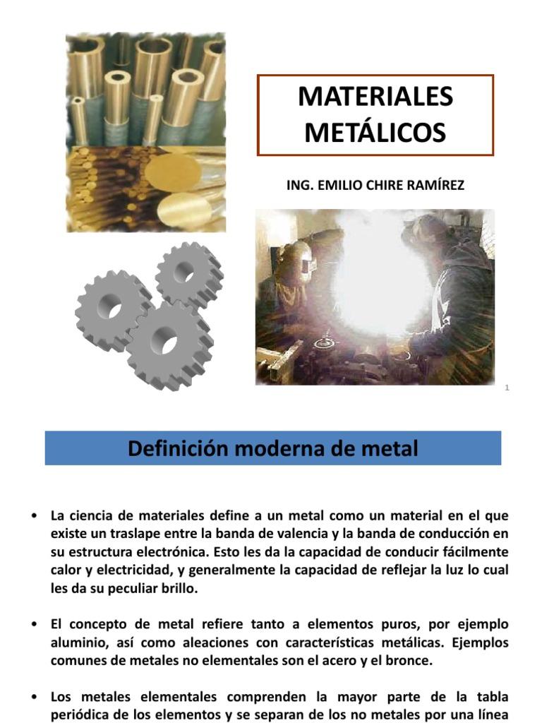 Materiales metalicos 2012 1 urtaz Gallery