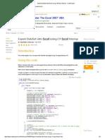Export DataSet into Excel using C# Excel Interop - CodeProject.pdf