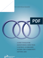 Infection Control Audit Tool - July 2009