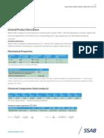 Weldox 960 Data Sheet