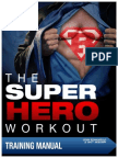 104613038 Super Hero Workout Training Manual Complete