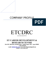 ETCDRC Business Proposal