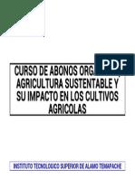 ABONO Curso de Abonos Orgánicos, Agricultura Sustentable y Su Impacto en Los Cultivos Agrícolas Por Reynol Fernandez Aguilar Del ITS de Alamo Temapache VIPVIPVIP
