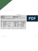 Bago Project Work Schedule Excel