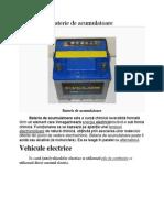 Baterie de Acumulatoare