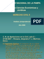 Anàlisis Jurisprudencial-Caso Persano