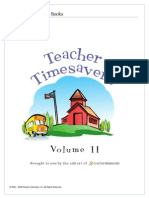 Teacher Timesavers, Volume 2